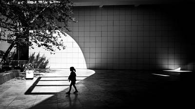 Getty Photograph - The Getty Museum - Los Angeles, United States - Black And White Street Photography by Giuseppe Milo