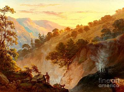 Painting - The Geysers Sonoma California 1865 by Peter Gumaer Ogden Collection