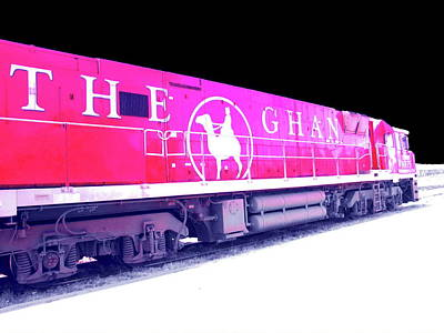 Photograph - The Ghan by Tim Richards
