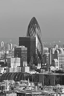 Photograph - The Gherkin London by Terri Waters