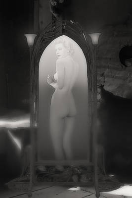Digital Art - The Ghost In The Basement by John Haldane