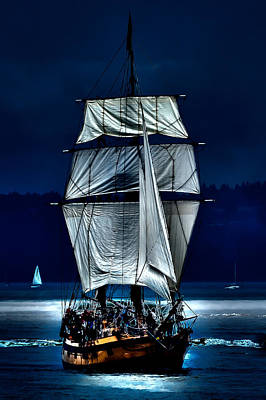 Pirate Ship Photograph - The Ghost Ship by David Patterson