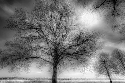 Photograph - The Ghostly Farm by David Pyatt