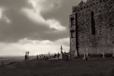 Photograph - The Ghosts Of Cashel Rock Ireland by Menega Sabidussi