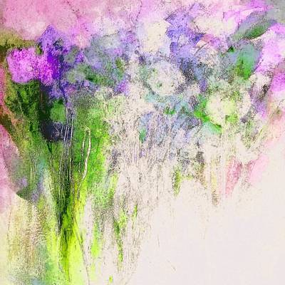 Digital Art - The Ghosts Of Flowers Past Painting by Lisa Kaiser
