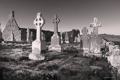 Church Ruins Photograph - The Ghosts Of Ireland by Robert Lacy