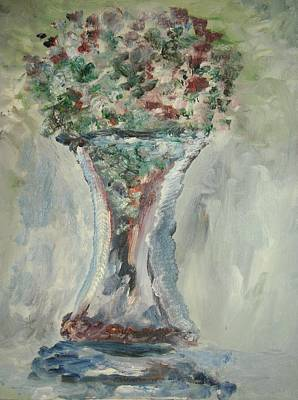 The Giant Goblet Vase Art Print by Edward Wolverton