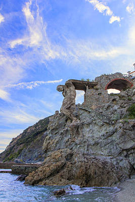 Photograph - The Giant Of Monterosso by Rick Starbuck