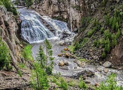 Photograph - The Gibbon Waterfall by Robert Bales