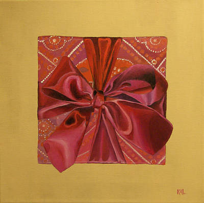 Painting - The Gift by Kathy Lumsden