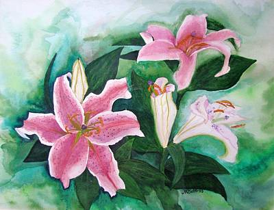 Get Well Soon Painting - The Gift by Margaret Bobb