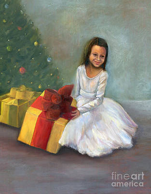 Painting - The Gift by Marlene Book