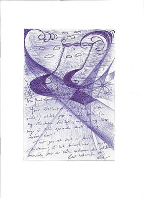 The Gift Of Eighth Notes Art Print