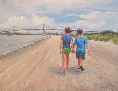 Cape Cod Painting - The Gift Of Love by Laura Lee Zanghetti
