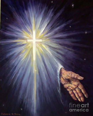 Painting - The Gift Of The Saviour by Deborah Smith