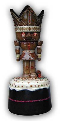 The Gingerbread King Art Print by Paul Illian