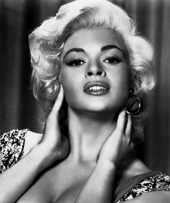 Photograph - The Girl Cant Help It Jayne Mansfield by R Muirhead Art