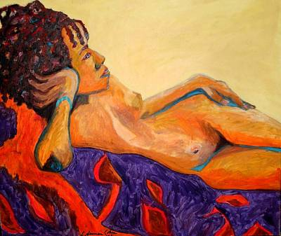 Painting - The Girl From Ipanima by Esther Newman-Cohen