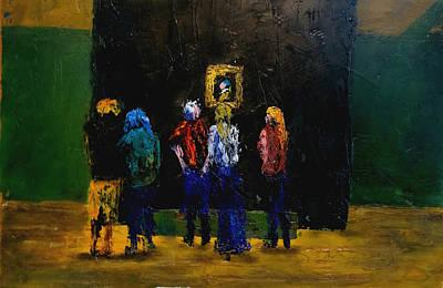 Painting - The Girl In Atlanta by David McGhee