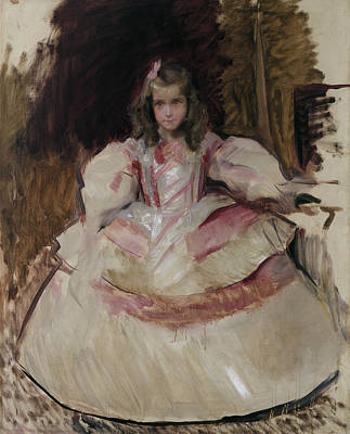 Painting - The Girl Maria Figueroa by Joaquin Sorolla
