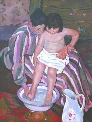 The Girl's Bath Original