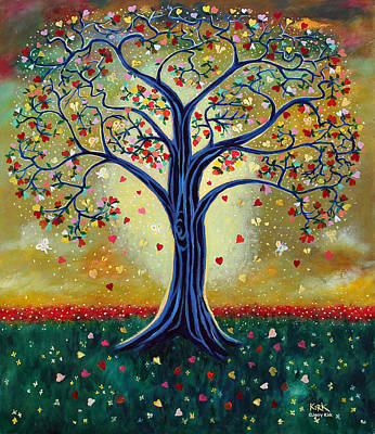 The Giving Tree Art Print by Jerry Kirk