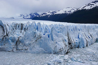 Photograph - The Glacier Advances by Michele Burgess