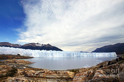 Photograph - The Glacier by Ben Johnson