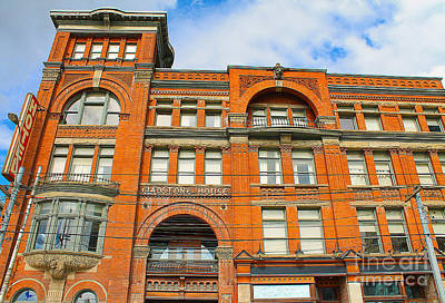 Photograph - The Gladstone Hotel by Nina Silver