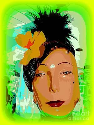 Digital Art - The Glamour Of Gloria by Ed Weidman