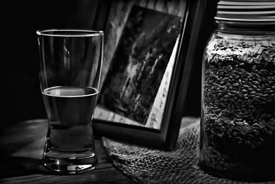 Photograph - The Glass Is Half Full by David Patterson