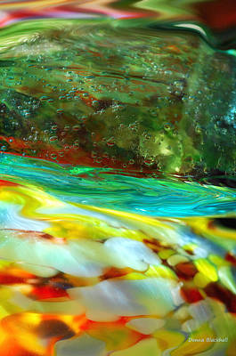 Photograph - The Glass Tide by Donna Blackhall