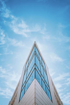 The Glass Tower On Downer Avenue Print by Scott Norris