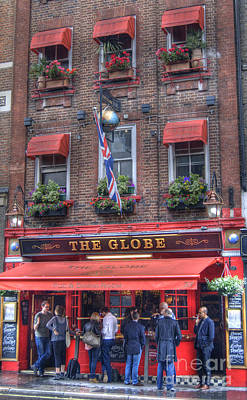 Photograph - The Globe Pub  by David Birchall