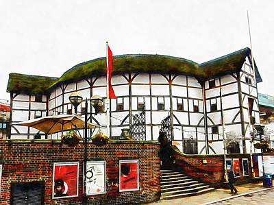 Photograph - The Globe Theatre London by Dorothy Berry-Lound