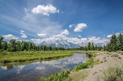 Photograph - The Glorious Grand Tetons No.1 by Margaret Pitcher