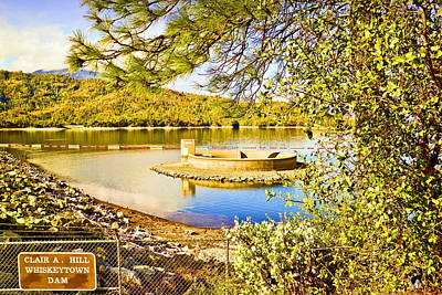 Photograph - The Glory Hole Whiskeytown Lake by Joyce Dickens