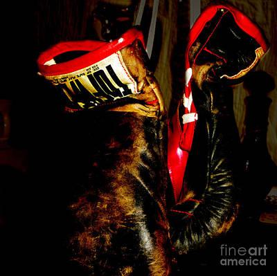 The Gloves Art Print by Steven Digman