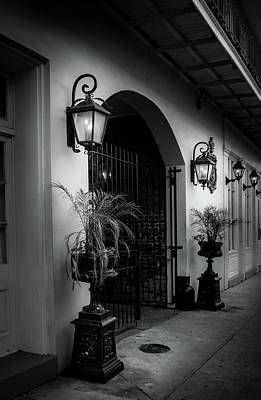 Photograph - The Glow Of Gas In Black And White by Greg Mimbs
