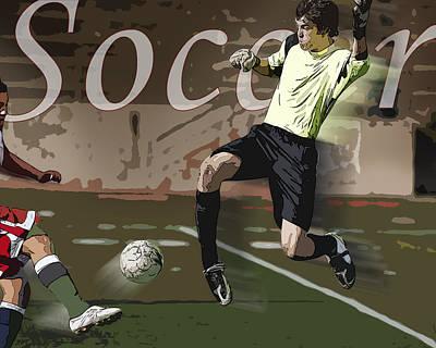 Goalkeeper Photograph - The Goalkeeper by Kelley King