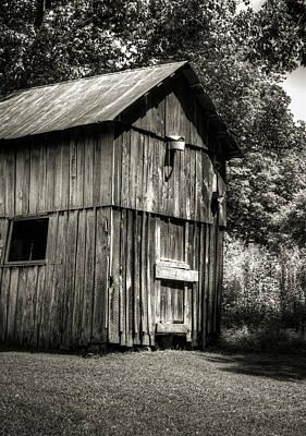 Photograph - The Goat House And Barn by Douglas Barnett