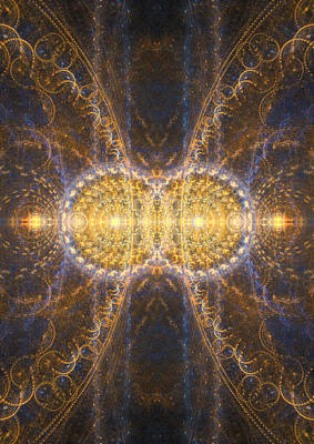 Digital Art - The God Particle by Martin Capek
