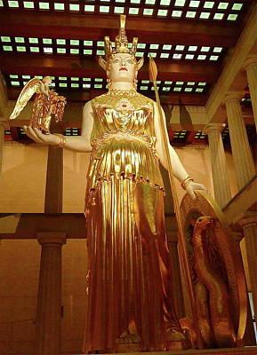 Photograph - The Goddess Athena by Denise Mazzocco