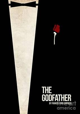Keaton Digital Art - The Godfather by Blackwater Studio