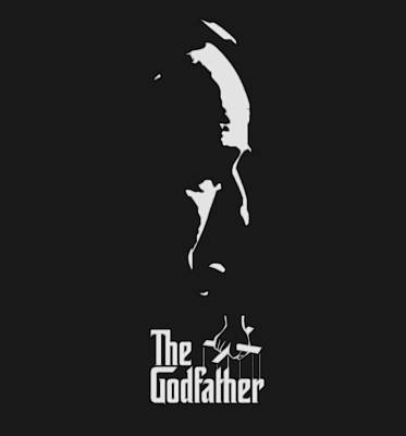 The Boss Digital Art - The Godfather by Dan Sproul