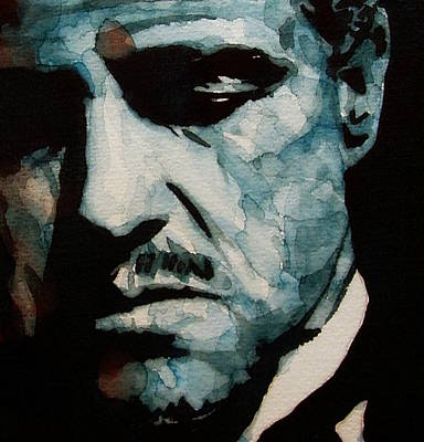 Painting - The Godfather - by Paul Lovering
