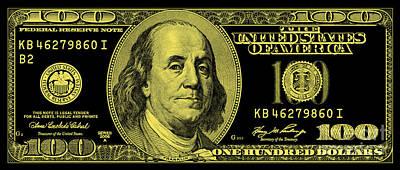 Ben Franklin Photograph - The Gold Standard by Jon Neidert