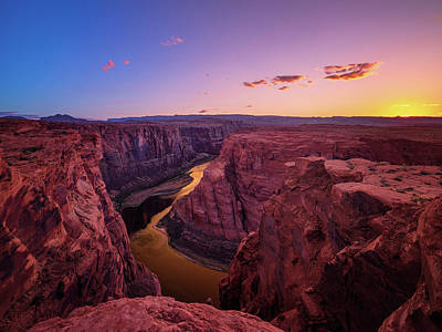 Photograph - The Golden Canyon by Edgars Erglis