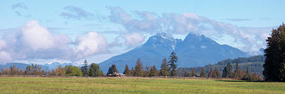 Photograph - The Golden Ears by Leslie Montgomery