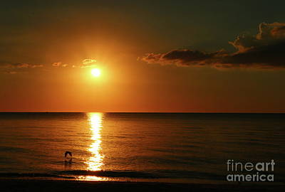 Photograph - The Golden End Of A Day by Christiane Schulze Art And Photography